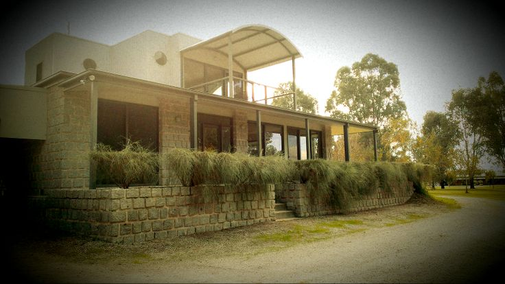Iconic Cohuna HOuse made from Pyramid Hill Stone  http://www.mawsons.com.au/home