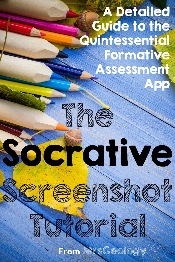 The Socrative Screenshot Tutorial: A Detailed Guide to the Quintessential Formative Assessment App