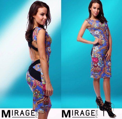 Női divat Ruha: Mintás nyári ruha, ruha esküvőre - ballagásra -alkalmi ruhák