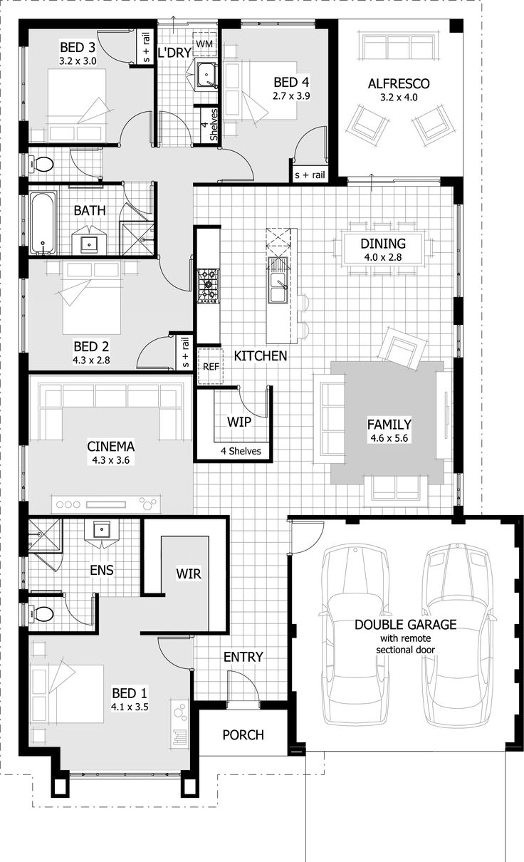 Rialto Floor Plan