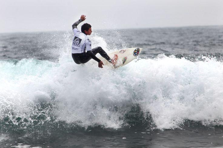 en Punta de Lobos, se disputan importantes campeonatos de surf.