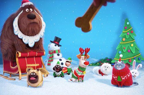 Рождественский трейлер мультика «Тайная жизнь домашних животных» (+видео)