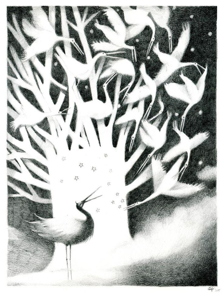"""DEBORA PERSICO - """"...L'Albero che Non C'è (Albor Non Entium). Si tratta di una particolarissima specie priva di materia e di corporeità e completamente invisibile ai comuni abitanti della terra. Soltanto alcune specie di uccelli migratori sono in grado di percepirne la presenza..."""" Luglio 2015"""