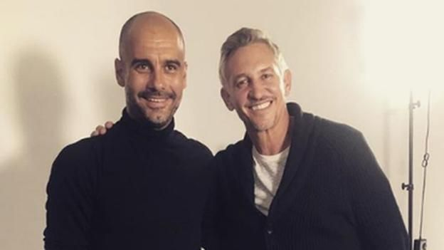 Pep Guardiola: Gary Lineker on meeting Man City boss for The Premier League Show - BBC Sport