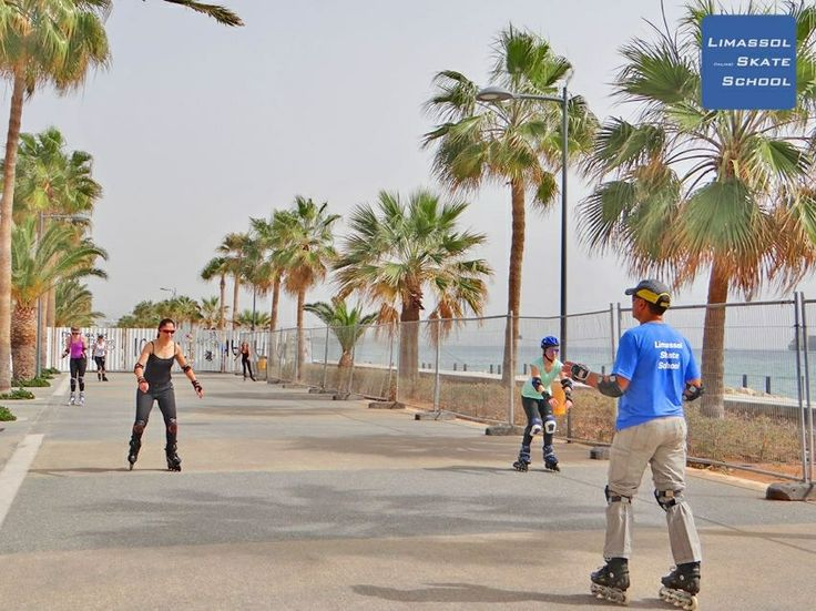 Due to tomorrow's #Limassol Marathon the next group lesson will be happening on March 22nd. #Skating #Inlineskating #Cyprus