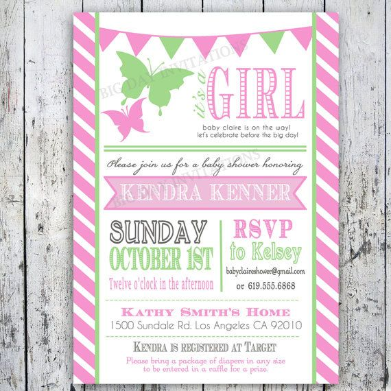 109 best images about baby shower invitations for singletons on, Baby shower invitations