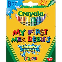 Crayola - Jumbo Washble Crayons 8-Pack