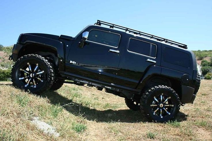 Image detail for -gallery with RBP 94R Black Chrome custom alloy wheels on Hummer Hummer ...