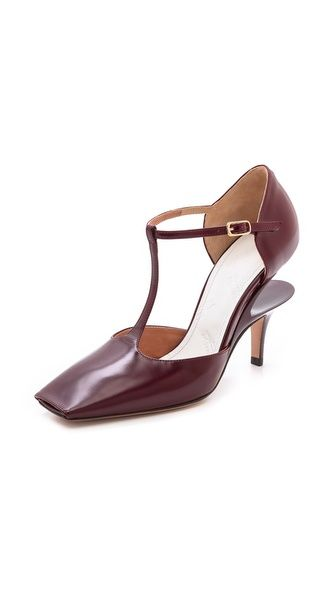 Maison Martin Margiela Leather T-Strap Pumps | SS 2014 | cynthia reccord