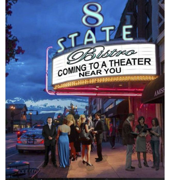 New 8 State Bistro Coming To Old Theater In Uptown Westerville Around The World Pinterest Theatre Restaurant And Upscale Restaurants