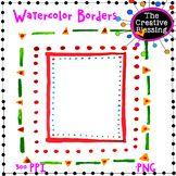 FREE Watercolor Borders
