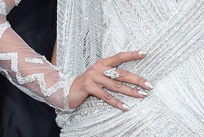 Alessandra Ambrosio's Nails #chopard
