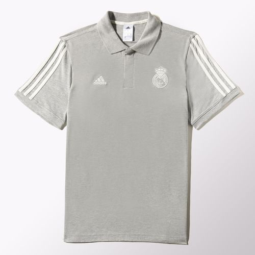 real madrid core polo grey Real Madrid Official Merchandise Available at www.itsmatchday.com