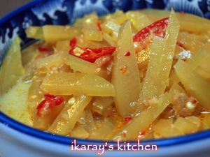 Resep Masakan Indonesia   Authentic Indonesian Recipes » Sambal Goreng Labu Siam