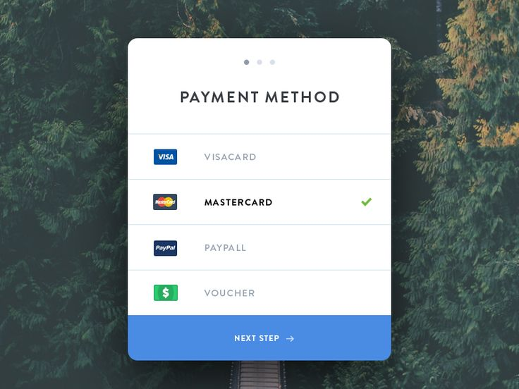 Here's day 2 for the daily UI challenge , a checkout widget. Paypal is spelled wrong, my bad :) @2X for full view!