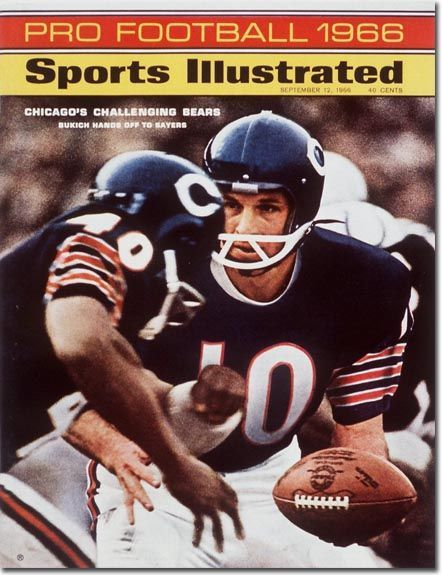 Sports Magazine Covers: Randy Bakuich and Gale Sayers