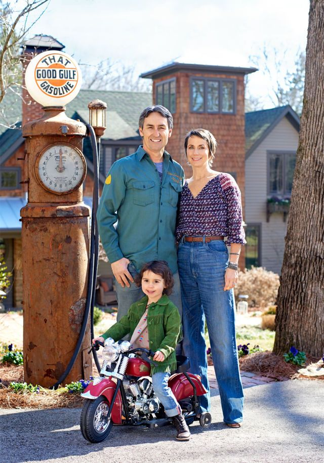 of American Pickers on the HISTORY channel, Mike Wolfe  most: Following dirt roads through sleepy towns across America in search of cobweb-covered gems from bygone eras. For Mike, these finds aren't things; they're stories. Some he sells at his shop, Antique Archaeology (with locations in Nashville and LeClaire, Iowa), a few he sets aside for design clients, and many find their way to his Leiper's Fork, Tennessee, home