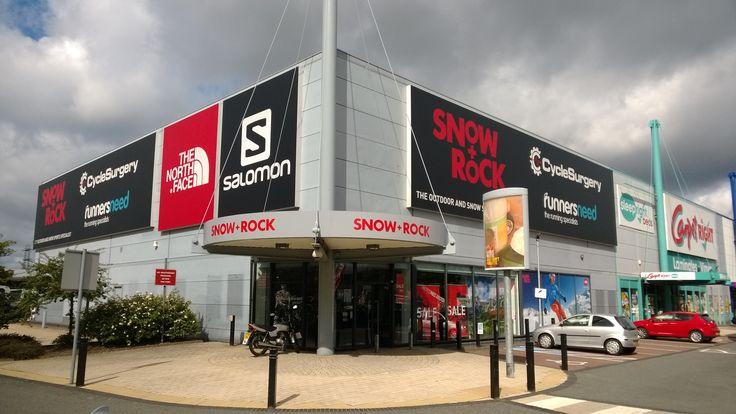 Amazing Snow+Rock store in Croydon - 2013