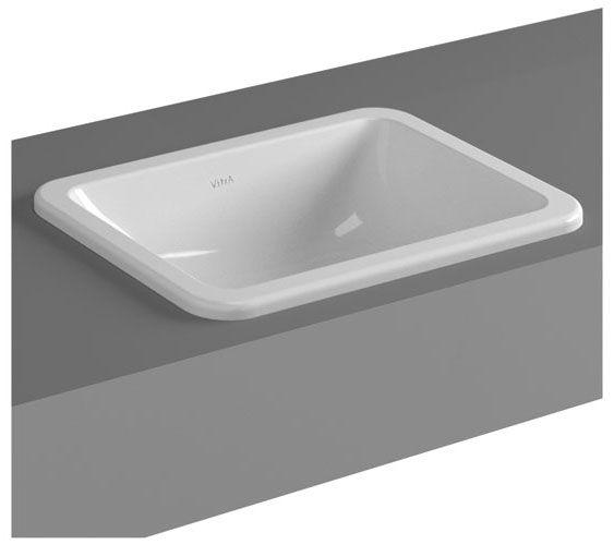 Vitra - S20 Countertop Square Basin - 3 Size Options