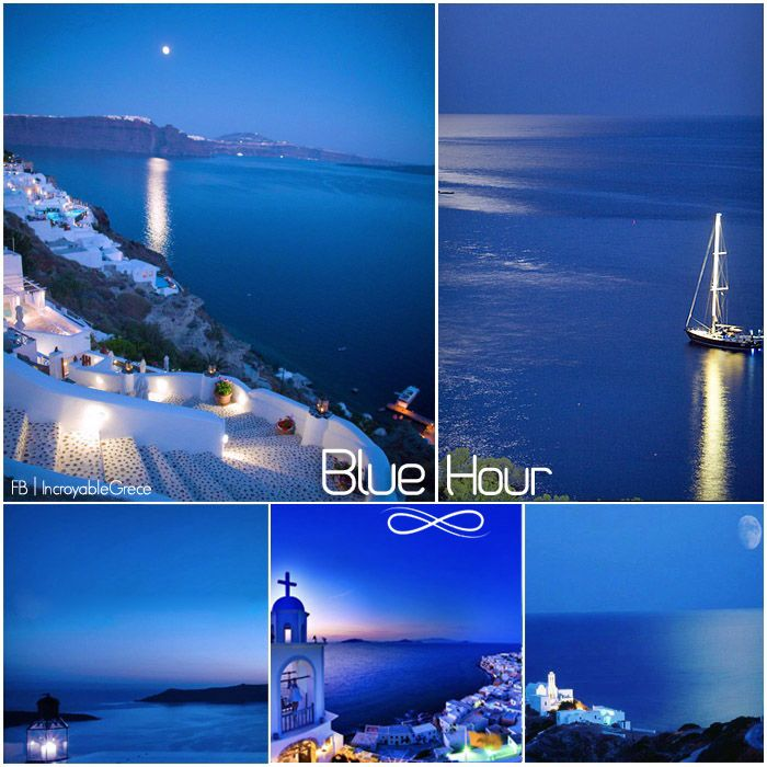 Blue Hour in Greece