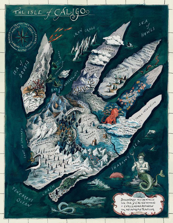 Illustrators dream up imaginary islands in a new Thames