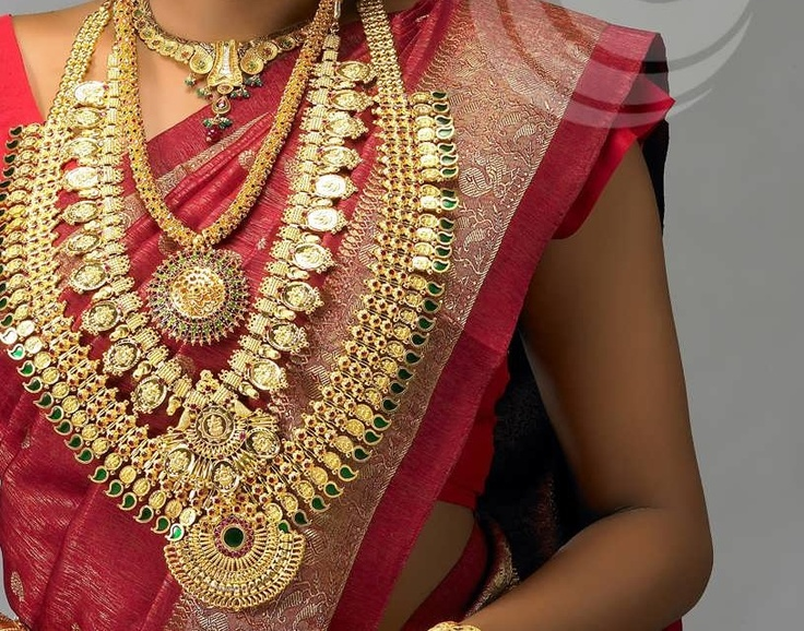 Kerala style gold for wedding
