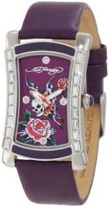 Ed Hardy Women's OA-SY Oasis Purple Watch It is an absolutely gorgeous. Don ed hardy skullerfly tattoo. Water resistant to 99 feet (30 M): withstands rain and splashes of water, but not showering or submersion. Swarovski crystlals. Hardened mineral crystal; 2 year limited warranty.  http://awsomegadgetsandtoysforgirlsandboys.com/easter-basket-girlfriend/ Ed Hardy Women's OA-SY Oasis Purple Watch