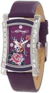 Easter Basket Girlfriend Ed Hardy Women's OA-SY Oasis Purple Watch