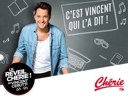 Tous les matins dans le « C'est Vincent qui l'a dit » sur Chérie FM, Vincent Cerutti partage avec nous des informations parfois incroyables mais vraies. Retrouvez les ... #cheriefm #reveilcherie #morning #vincentcerutti #radio #fm