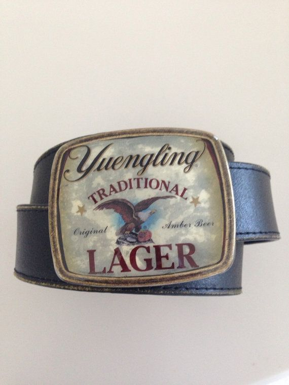 Yuengling Traditional Lager Beer Label Belt by BuckleXpressions