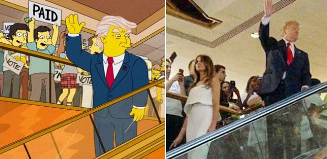 The Simpsons: 7 times the famous cartoon actually predicted the future#Facts#InterestingFacts#Simpsons