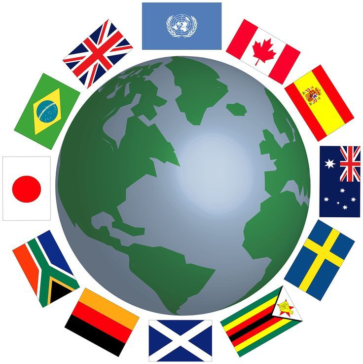 In Case You Are Looking For The Custom Flags In Nz Then It Is For Sure That You Will Be Able To Have The Perfect Globe Clipart World Globe Images