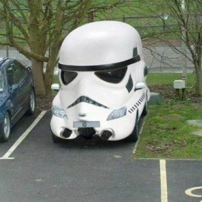 Storm Trooper Car.: Sports Cars, Darth Vader, First Cars, Safest Cars, Storms Troopers, Cool Cars, Stars War, Dreams Cars, Starwars