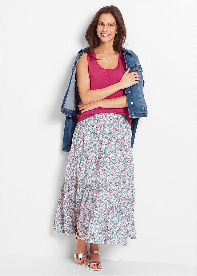 Długa spódnica, kolekcja Maite Kelly • 109.99 zł • bonprix