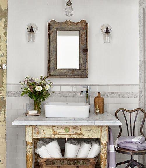 Fashion Bathroom Decor: 30 Best French Farmhouse Images On Pinterest