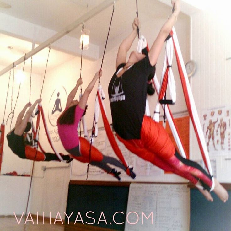 Aeroyoga Institute Formación de Profesores de Yoga Aéreo® y Pilates Aereo®: Aero Yoga  Vinyasa Flow Clase parte II