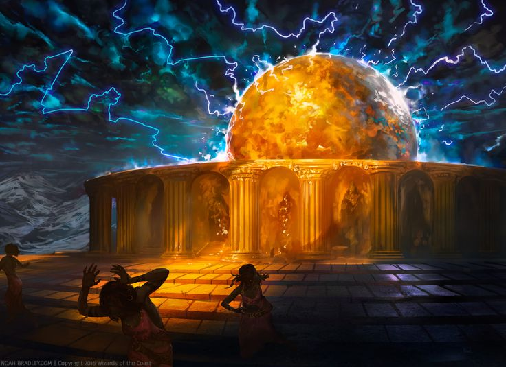 Temple of Epiphany | Noah Bradley