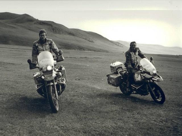 Ewan mcgregor motorcycle long way round
