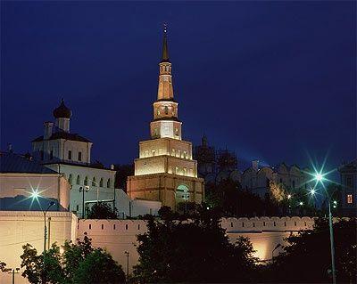 Город Казань, башня Сююмбеки.