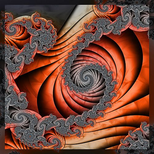 Fractal Art - looks like inspiration for one of my LoGaS characters who sculpts...