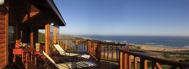 Breath-taking sea views from all the Chalets