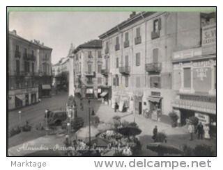 Alessandria 1954-Piazzetta della Lega Lombarda n°36- - Delcampe.it