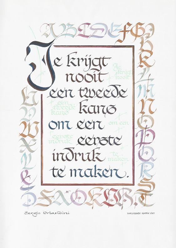Kalligrafie citaat