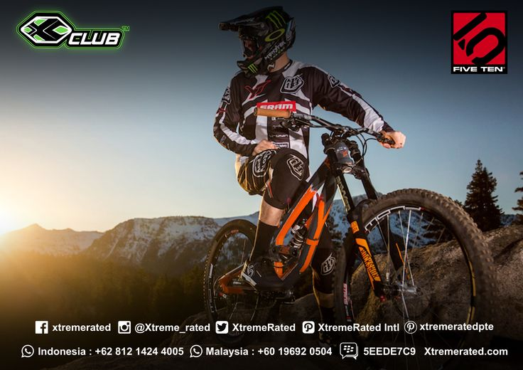 Five Ten Shoes Good for comfort & versatility both on & off the bike  #xtremerated #xclub #fiveten #mtb