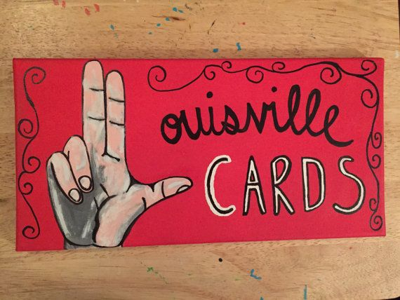 University Of Louisville With The L by GodBlessedSouthern on Etsy