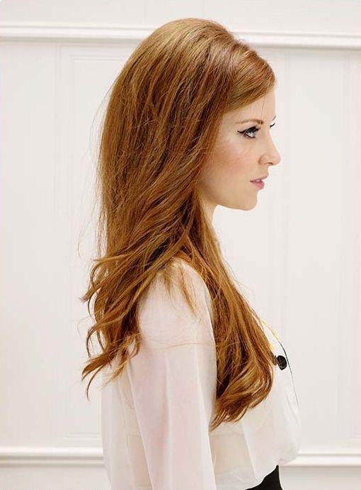 Inspiração de cabelo longo com ondas e uma cor linda!