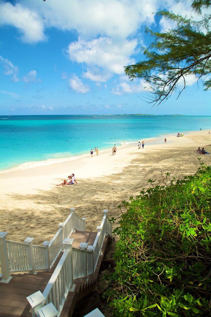 Relax on a Bahamas beach! Nassau Paradise Island, don't mind if we do! (Hurry up June 2014)