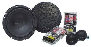 Lanzar VX6C VX 6.5-Inch Two-Way Custom Component System by Lanzar. $51.10. 6.5-Inch Midbass Driver Poly-Mica Coated Woofer Cone 1-Inch High Temperature Voice Coil Power Handling: 120 Watts RMS/240 Watts Peak Frequency Response: 50-22kHz Impedance:4 OhmsOne Pair Tweeter:.5-Inch Mylar Dome Tweeter Neodymium Magnet Tri-Way Mounting System: Flush, Swivel, Surface Mount Frequency Response: 1.3k-22k Hz Impedance: 4 OhmsOne Pair Passive Crossover Network:Two-Way Passive Crosso...
