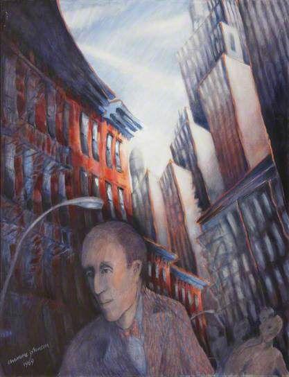 Charlotte Johnson Wahl - New York Street Scene, 1989