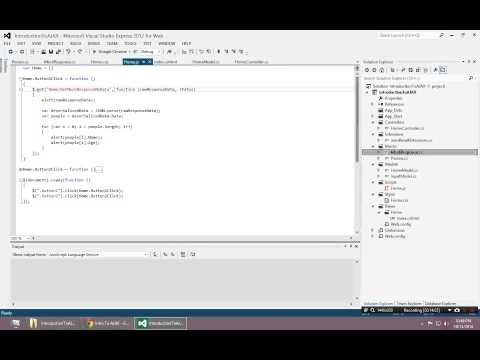 Introduction to AJAX - Simple GET Examples with JQuery - YouTube